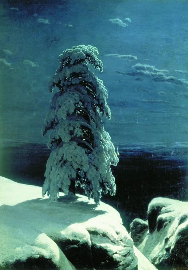 'In the Wild North', 1891, Ivan Shishkin