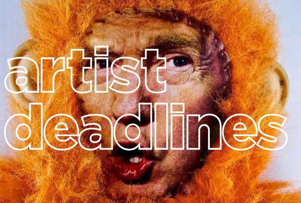 artist deadlines