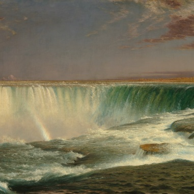 Frederic Edwin Church (American, 1826 - 1900 ), Niagara, 1857, oil on canvas, Corcoran Collection (Museum Purchase, Gallery Fund) 2014.79.10